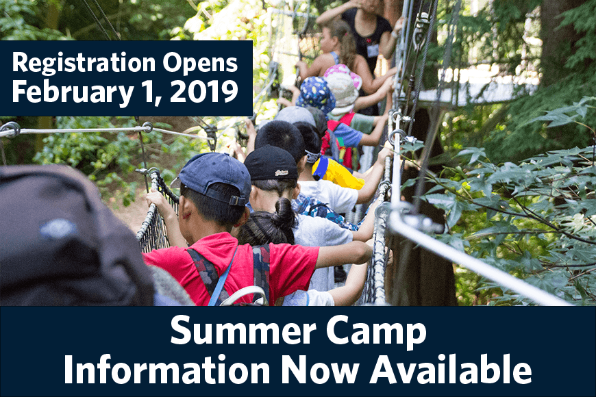 Summer Camp Info Now Available 2019